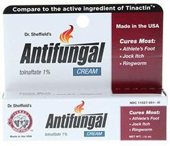 Dr. Sheffield's Antifungal Cream Tolnaftate 1% *Compare to Tinactin - $12.99