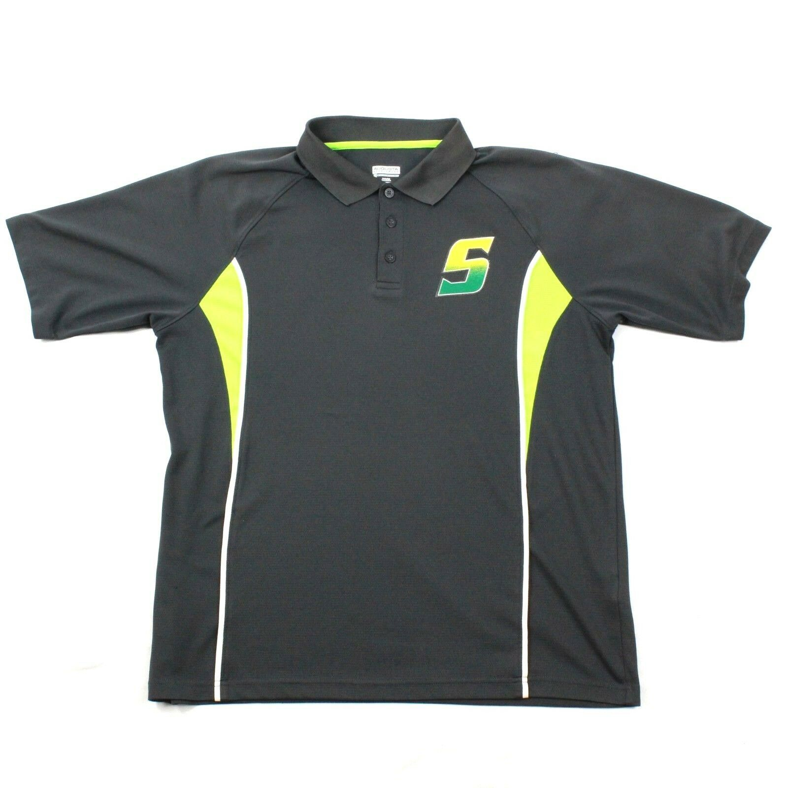 Primary image for Augusta Sportswear Active Polo Shirt Adult Large Moisture Management Relaxed Fit