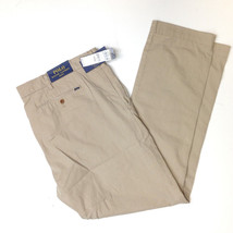 $145 POLO RALPH LAUREN SLIM FIT NEWPORT PANTS, Boating Khaki, 40x32 - $89.09