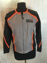 Harley Davidson Womens S Small Motorcycle Biker Jacket HD American Legend - $44.34