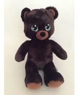 "BUILD A BEAR chocolate brown SWEET SCENT TEDDY BEAR W/ BIG EYES 16"" plush - $28.04"