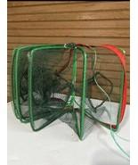 Foldable Fishing Bait Trap Crab Nylon Net - $18.81
