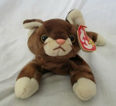 Ty Beanie Baby Pounce the Brown Cat USED - $5.93