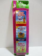 THE CLEVER FACTORY Bible Card Games - Go Fish - Noahs Ark - Bible Trivia - $16.55