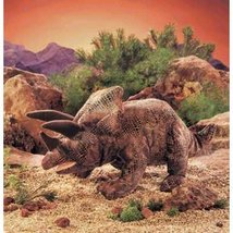 Folkmanis Triceratops Puppet (Brown) - $29.99