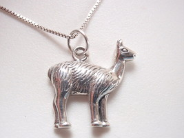 Gentle Llama 925 Sterling Silver Necklace - $15.83
