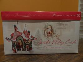 Dept56 56407 Santa Visiting Center Welcome North Pole Gift Set Christmas... - $108.85