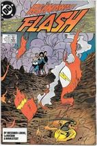The Flash Comic Book 2nd Series #25 DC Comics 1989 VERY FN/NEAR MINT NEW... - $3.50