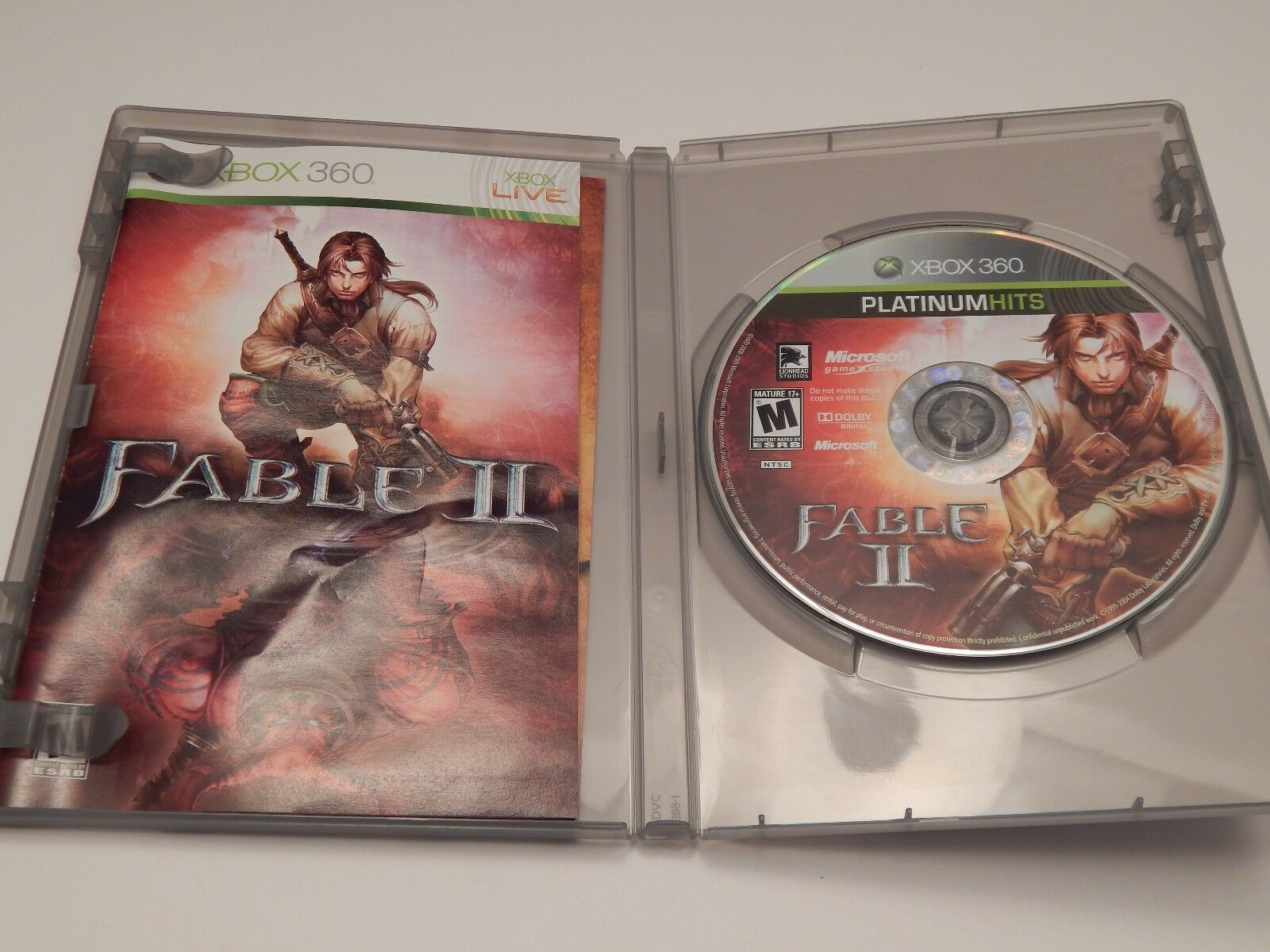 Fable II -- Platinum Hits (Microsoft Xbox 360, 2009) image 3