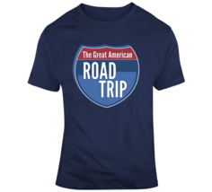 Great American Road Trip Interstate Sign T Shirt - $26.99