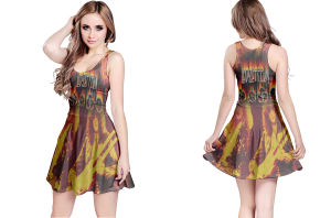 Led zeppelin reversible dress