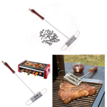 BBQ Meat Branding Iron Tool Personality Grill Barbecue Steak Accessory 5... - £12.83 GBP