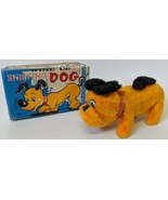 Vintage 1960's Nomura (TN) Japan Wind-up Mohair Covered SNIFFING DOG Toy... - $35.00