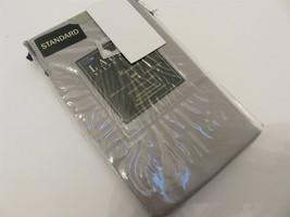 Ralph Lauren Hemstitch 400tc Cotton Sateen Standard Pillowcases Grey - $45.54