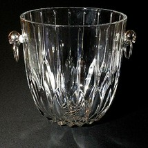 1 (One) MIKASA PARK LANE Stunning Cut Lead Crystal Champagne Bucket DISC... - $94.99