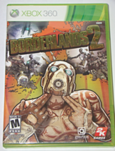 XBOX 360 - BORDERLANDS 2 (Complete with Manual) - $10.00