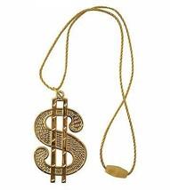 Dollaro Medaglione/Stringa Corda, Costume da Festa Accessorio - £1.85 GBP