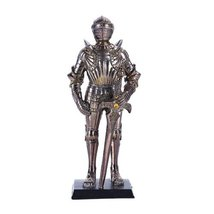 """Pacific Giftware 7"""" Tall Medieval Knight Statue Figurine Suit of Armor w... - $18.46"""