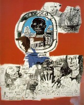 "Jean Michel Basquiat ""LOGO 1984"" HD print on canvas large wall picture 3... - $29.69"