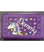 Personalized Unicorn Pencil boxes, Back to school supplies, Unicorn Penc... - $16.00