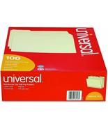 6 Boxes Universal 16113 File Folders 1/3 Cut 2-Ply Top Tab Letter Manila... - $85.40