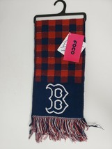 Foco Red, White, Blue Boston Red Sox Fringed Scarf - New - $18.99