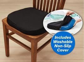 Gel Cushion Honeycomb Seat & Non-Slip Cover - Design Sitter Helps Pressure Point image 8