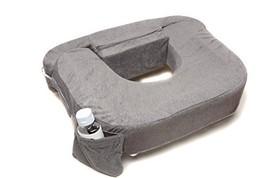 My Brest Friend Supportive Nursing Pillow for Twins 0-12 Months, Plus-Size, Dark
