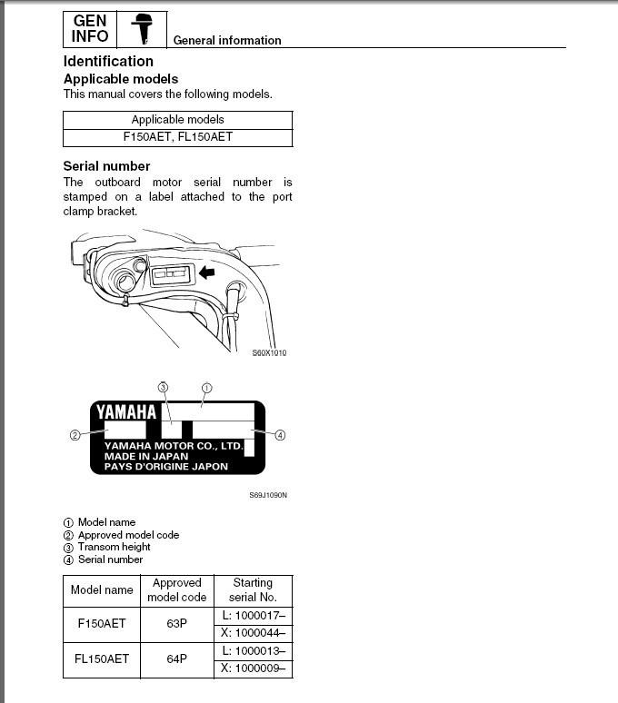 Yamaha F150 FL150 4-Stroke Outboard Motor and 50 similar items on