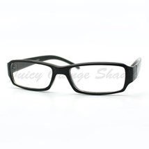 Small Rectangular Eyeglasses Clear Narrow Lens Optical Frame - $7.95