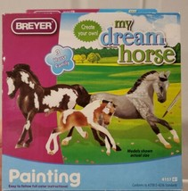 Breyer MY DREAM HORSE Paint Kit~3 Stablemates:Stallion, Mare & Foal Fami... - $11.64