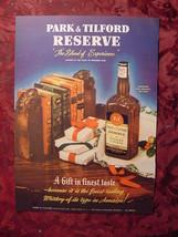 1941 Esquire Original Ads PARK & TILFORD reserve Whiskey Blend DOBBS Hats - $10.00