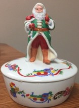 Lenox Victorian Santa Music Box ~ Limited Edition - $9.89