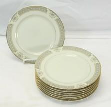 "Mikasa Richelieu Salad Plates 7.5"" Lot of 8 - $45.07"