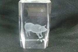 Animal Pig in Glass #184 - $6.99