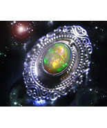 HAUNTED RING THE DIVINE FIRELIGHT TO IMPROVE EVERYTHING FAST SECRET OOAK... - $10,777.77