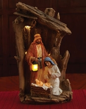 Luminous Night Figurine - Nativity