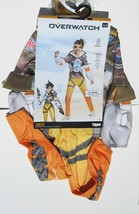 Overwatch TRACER Halloween Costume Girls Size Small 4-6 NEW With Goggles - £7.45 GBP