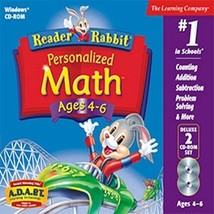 Reader Rabbit Personalized Math 4-6 Deluxe - $19.17