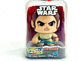 Star Wars Mighty Muggs By Hasbro Disney REY(Jakku) #5 NIB - $18.80