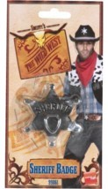 SHERIFF STAR BADGE, COWBOYS & INDIANS, COWGIRL  MENS #CA - $3.56 CAD