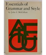 Essentials of Grammar and Style by John I. McCollum - $4.99