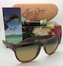 Polarizzati Maui Jim Occhiali da Sole Ailana Mj 273-01M Cioccolato W/ Hc... - $290.83