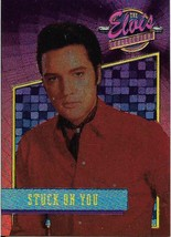 1992 The River Group The Elvis Collection Foil #33 Stuck On You > Elvis ... - $2.49