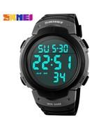 SKMEI Luxury Brand Outdoor Sports Watches Men Waterproof Digital LED Mil... - $29.06