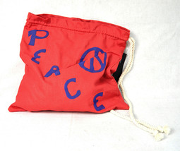 Marc By MARC JACOBS Peace Red Tote Bag NWT - $24.44