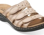 Clarks Leisa Cacti Sandals (Women's) $85 in Nude Leather - NEW IN BOX