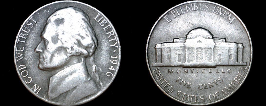 Primary image for 1946-P Jefferson Nickel