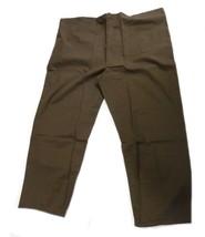 Scrub Pants Brown 2XL Adar 504 Drawstring Waist Uniform Bottom Unisex Blend New - $25.19