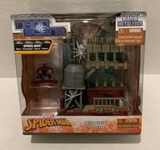 Marvel Spiderman Nano Scene Nano Metalfigs Daily Bugle City Scene - New - $14.53